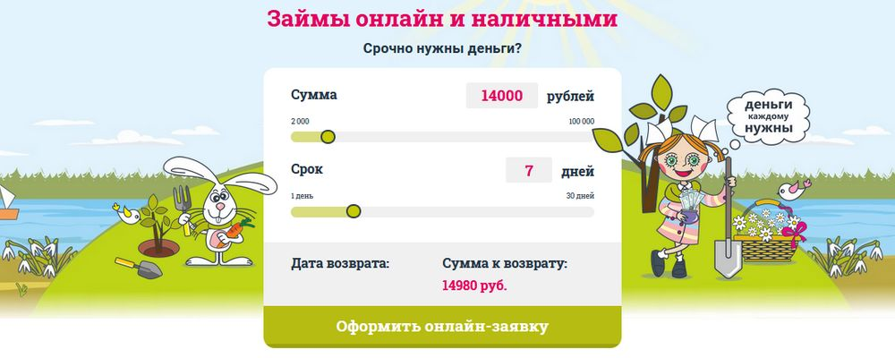 Срочно деньги: получить онлайн займ без отказа